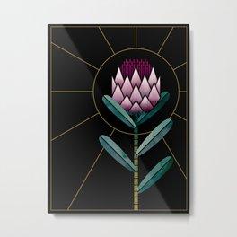 Protea Power Metal Print