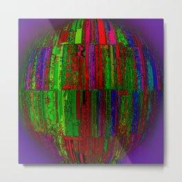Cage Ball Metal Print