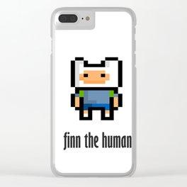 Finn the human Clear iPhone Case