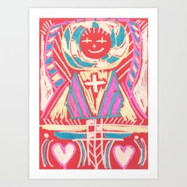 abundant love Art Print