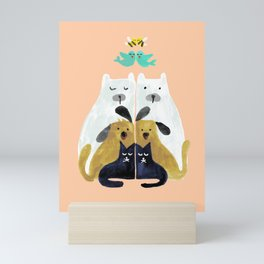 Let's get together Mini Art Print