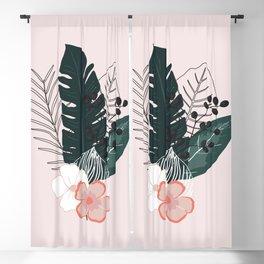 Tropical Bouquet Blackout Curtain