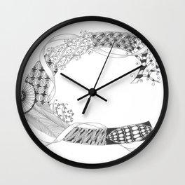 """Zenletter """"C"""" Wall Clock"""