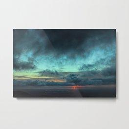 Light On The Horizon Metal Print