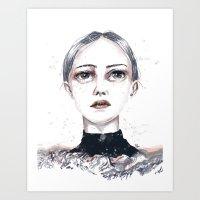Eyes up High Art Print