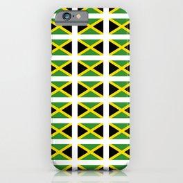 Flag of Jamaica 2-Jamaican,Bob Marley,Reggae,rastafari,cannabis,ganja,america,south america,ragga iPhone Case