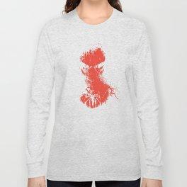 Spidey Splatter Art Print  Long Sleeve T-shirt