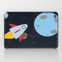rocket iPad Cases featuring rocket by Annretro