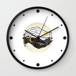 La Lune Spell Wall Clock