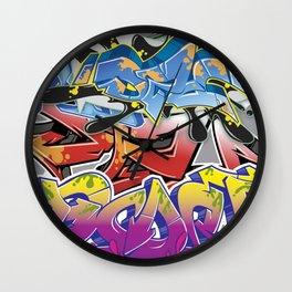 Graff Montage Wall Clock