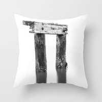 pi Throw Pillows featuring Pi Anyone? by Mark Alder