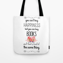 you can buy books Tote Bag
