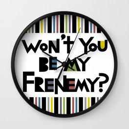 Frenemy Wall Clock