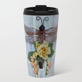 Dragonfly Love by Kathy Morton Stanion Travel Mug