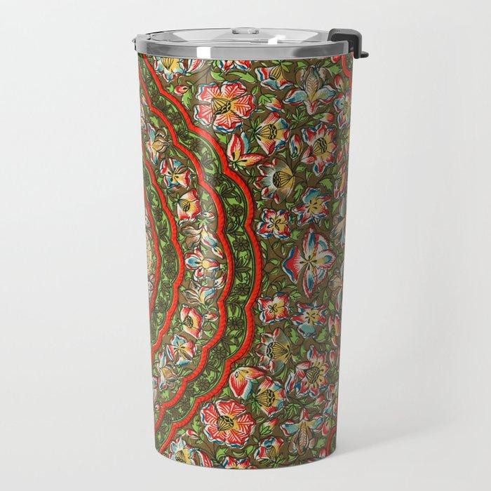 Indian Pattern No. 5 Travel Mug