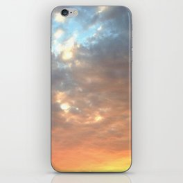 West-side Sunset iPhone Skin