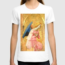 """Fra Angelico (Guido di Pietro) """"Adoring Angel, Looking Right"""" T-shirt"""