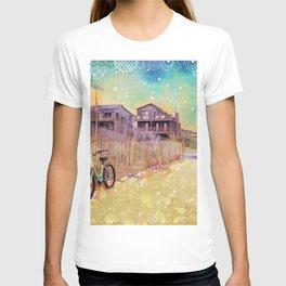 Beach Cruiser and Stars T-shirt