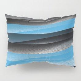 Black Blue Pillow Sham
