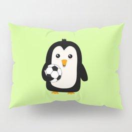 Soccer Penguin with ball T-Shirt Dg3ps Pillow Sham