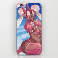 magical girl iPhone & iPod Skins featuring Magical Girl by Rebeccacablah