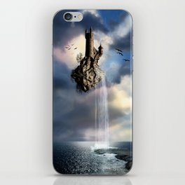 Surreal Castle Waterfall iPhone Skin