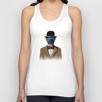 magritte Tank Tops featuring Doctor Magritte by le.duc