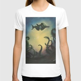 20,000 Leagues Under The Sea - Jules Verne T-shirt