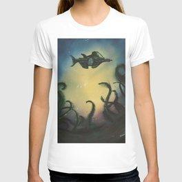 20,000 Leagues Under The Sea - Jules Verne T-shirt