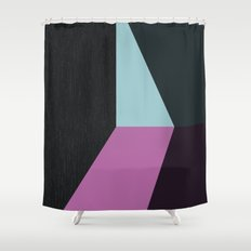 alone in the brightest darkness Shower Curtain