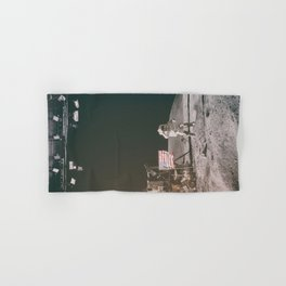 Moon Landing - Stanley Kubrick outtakes Hand & Bath Towel