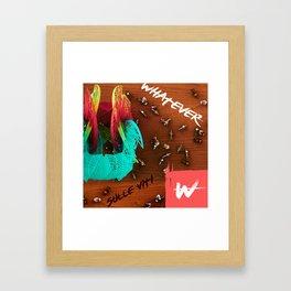 sulle viti Framed Art Print