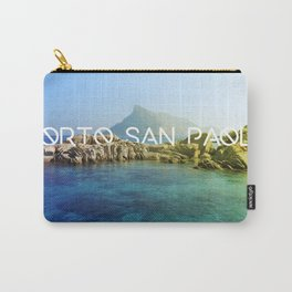 Porto San Paolo Carry-All Pouch