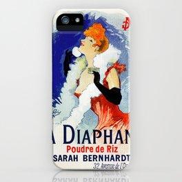 La Diaphane Sarah Bernhardt iPhone Case