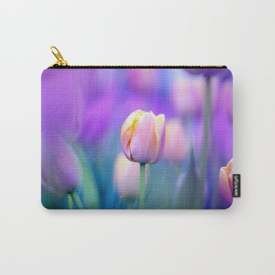 Tulips , Flowers  , Tulips , Flowers  games, Tulips , Flowers  blanket, Tulips ,  Carry-All Pouch