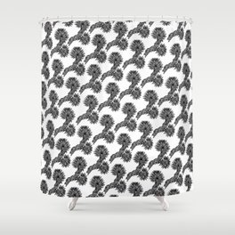 Joshua Tree Oscuro by CREYES Shower Curtain