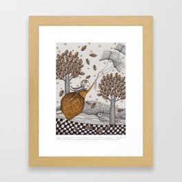 """Art from """"A Velocity of Being: Letters to a Young Reader"""" Framed Art Print"""