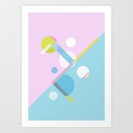 Geometric Calendar - Day 12 Art Print