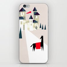 The horse and his castle iPhone & iPod Skin