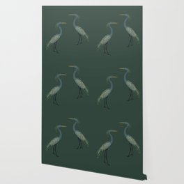 Camouflage: The Crane Wallpaper