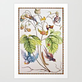 The Vines Are Alive Art Print
