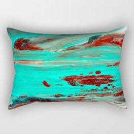 Brown Rectangular Pillow