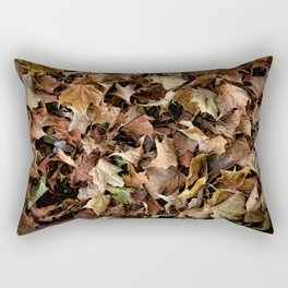 Leaf Jumble Rectangular Pillow