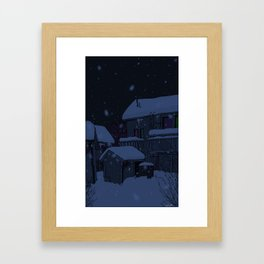 neighborhoods Framed Art Print