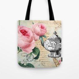 Vintage Flowers #17 Tote Bag