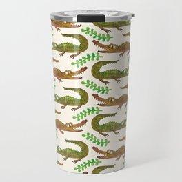 Crocodile pattern Travel Mug