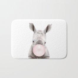 Bubble Gum Baby Rhino Bath Mat