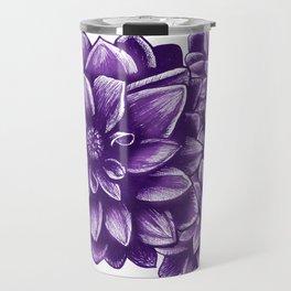 Flowers V.1 Travel Mug
