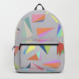 Colour Diamond Grey Backpack