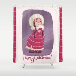 Christmas! Shower Curtain